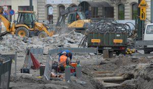 Przebudowa ulicy Basztowej w Krakowie