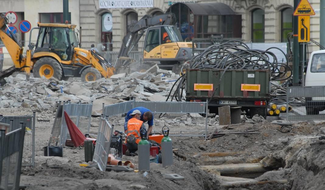 Przebudowa Basztowej – komunikacyjny horror dla mieszkańców Krakowa