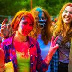 Festiwal kolorów w Krakowie 2018