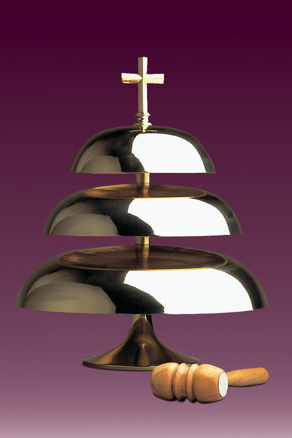 Z jakich materiałów są wykonywane gongi kościelne?